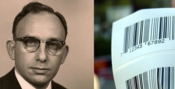 Norman Woodland barcode inventor